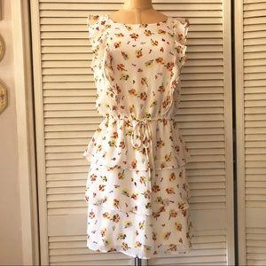 Xhilaration Women's Medium Floral Dress